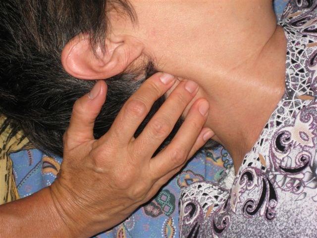 Scioglimento energie bloccale su collo