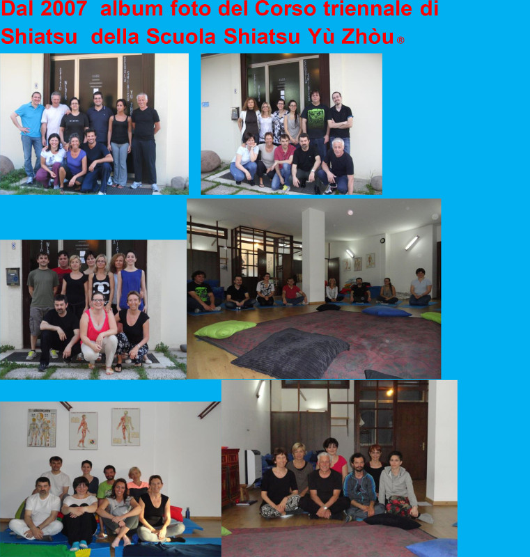 Archivio foto dei corsi Shiatsu a Padova dal 2007
