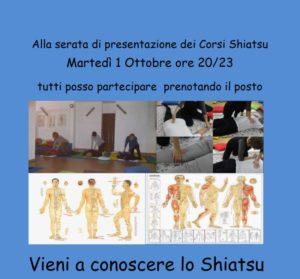 Presentazione dei Corsi Shiatsu a Padova