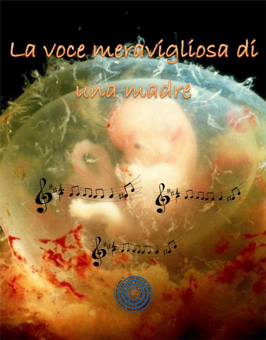 La voce meravigliosa di una madre