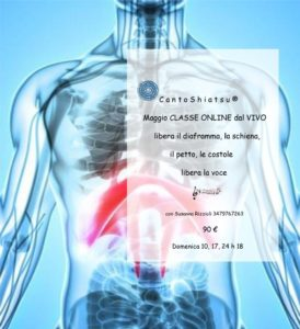 libera il diaframma, la schiena, petto, le costole, libera la voce libera il diaframma, la schiena, il petto, le costole libera la voce